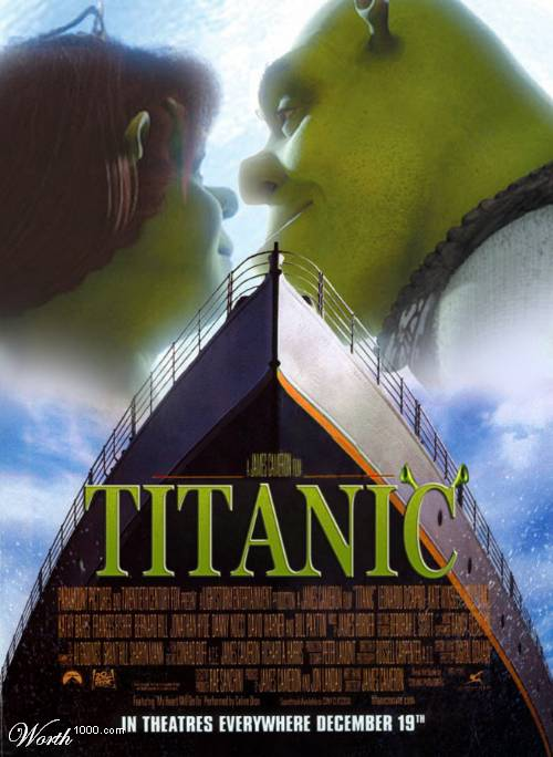 TITANIC, VERSION SHREK